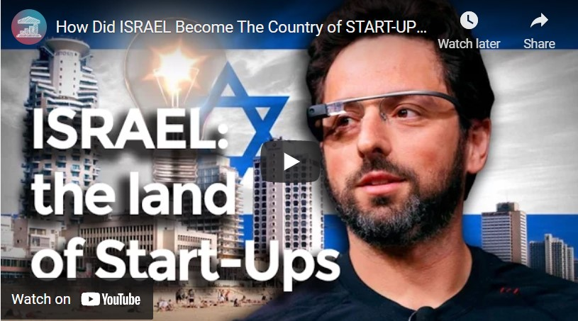 Why Did Israel Become the Country of Start Ups